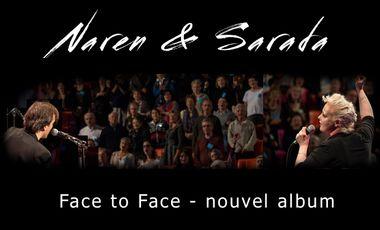 "Project visual Naren and Sarada : Nouvel album ""Face to Face"""