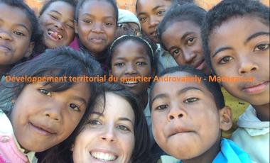 Visuel du projet Développement territorial du quartier Androvakely - Madagascar