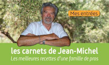 Project visual Les carnets de cuisine de Jean-Michel