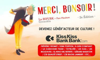 "Project visual Festival ""Merci, Bonsoir !"" 2e édition"