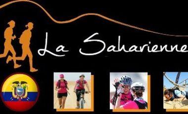 Visueel van project l'infini team au raid de la saharienne