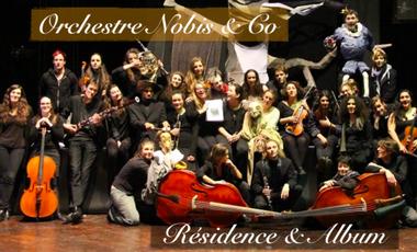 Project visual Orchestre Nobis & Co : Résidence & Album