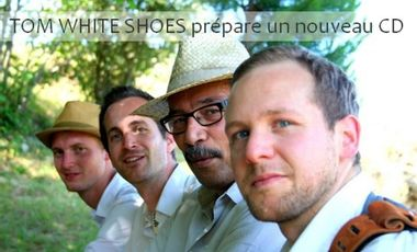 Project visual TOM WHITE SHOES : Nouveau CD