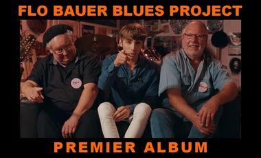 Project visual FLO BAUER BLUES PROJECT - 1er ALBUM