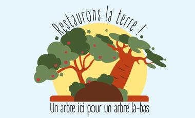 Visuel du projet Restaurons la Terre - plantons des arbres en Belgique et au Burkina