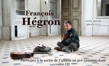 Visuel du projet François Hégron  album
