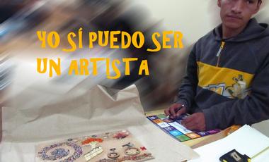 Project visual YO SÍ PUEDO SER UN ARTISTA
