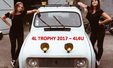 Visuel du projet 4L Trophy 2017 - 4L4U