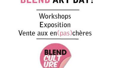 Visueel van project BLEND ART DAY !