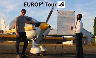 Visueel van project EUROP' Tour
