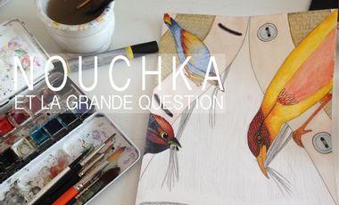 Visuel du projet Livre CD Nouchka et la grande question