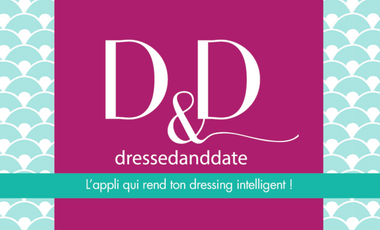 Visuel du projet Application Dressed and Date