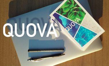 Visueel van project Quova, choisissons notre futur