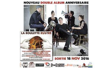 Project visual La Roulette Rustre - Nouveau double album anniversaire