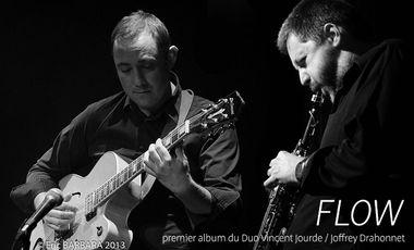 Project visual Enregistrement de l'Album Flow du Duo Vincent Jourde/ Joffrey Drahonnet