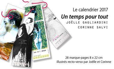 """Visuel du projet Calendrier marque-pages """"Un temps pour tout"""""""