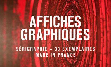 Visuel du projet Affiches graphiques made in France.