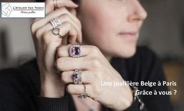 Project visual Une Joaillière Belge à Paris