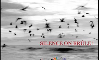 Project visual Silence on brûle
