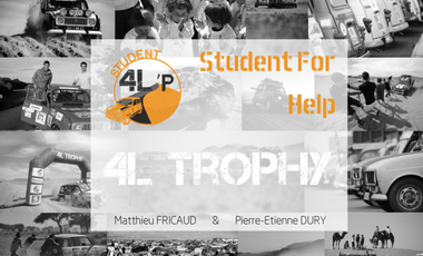 Project visual Student For Help - 4L Trophy 2017