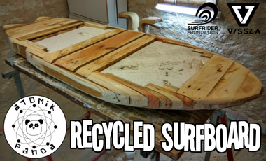 Project visual Recycled Surfboard - A trip to innovation