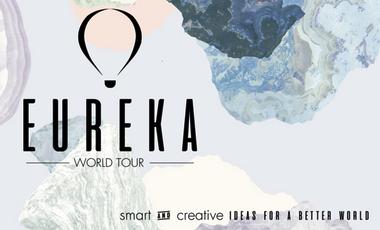 Project visual EUREKA - World Tour 2017 : des idées pour un monde meilleur !