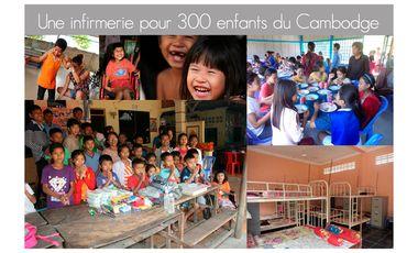 Project visual Une infirmerie pour 300 enfants au Cambodge !
