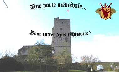Visuel du projet Une porte médiévale pour entrer dans l'histoire
