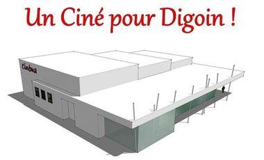 Visueel van project Un Ciné à Digoin !