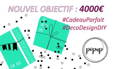 Project visual POPUP : la première box Déco Design DIY