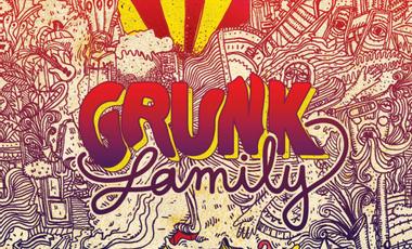 Visueel van project Grunk Family - Presse du 1er album !