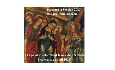 Visuel du projet Partagez la Passion 2017 du Choeur du Luberon