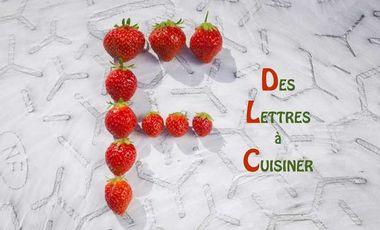 """Visuel du projet """"Lettres à cuisiner"""", un livre délicieux et original"""