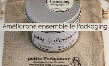 Visueel van project Amélioration du packaging - Bougies petite Parisienne