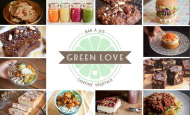 Visueel van project GREEN LOVE : Bar à Jus Bio & Cantine 100% Végétale