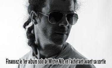 Visueel van project Financez le 1er album solo de Mister Nils en l'achetant avant sa sortie