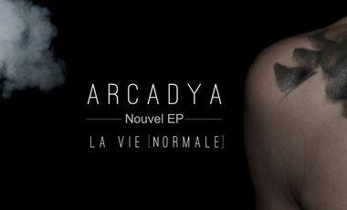"""Visuel du projet Arcadya - Nouvel EP """"La Vie Normale"""""""