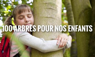 Project visual 100 arbres pour nos enfants