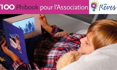 Project visual 100 Phibook pour 1000 sourires d'enfants