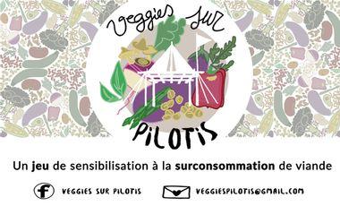Project visual Veggies sur Pilotis