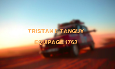 Project visual Tristan & Tanguy - Équipage 1763 - 4L Trophy 2017