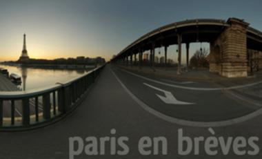 Project visual Paris en brèves