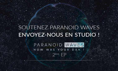 Project visual NOUVEL EP - PARANOID WAVES