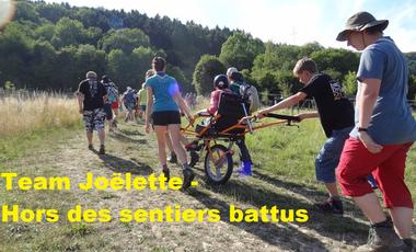 Project visual Team Joëlette - Hors des sentiers battus