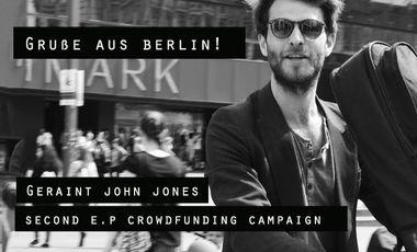 Visueel van project Geraint John Jones... Second EP
