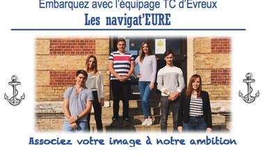 Visuel du projet Embarquez avec l'équipage TC d'Evreux : Associez-vous à notre ambition