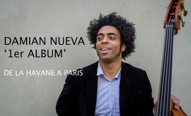 """Project visual DAMIAN NUEVA - 1er Album """"De la Havane à Paris"""""""