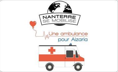 Visuel du projet Une ambulance pour Aizaria