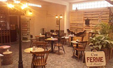Project visual JAUNE : Librairie & Café à Bruxelles (Jette)