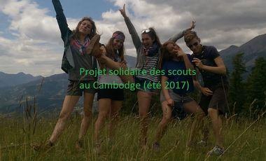 Visuel du projet Projet Solidaire des Scouts au Cambodge 2017